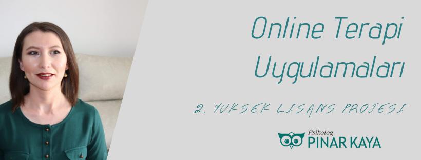 Online Psikoterapi Uygulamaları